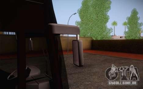 Mercedes-Benz Argentina Thailand Bus para GTA San Andreas vista interior