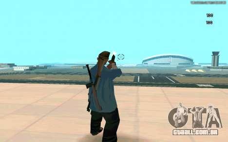 Eterna visão para GTA San Andreas quinto tela