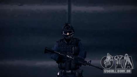 Special Weapons and Tactics Officer Version 4.0 para GTA San Andreas quinto tela