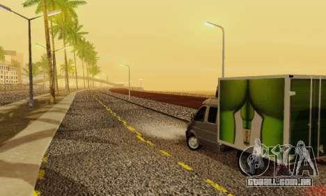 Heavy Roads (Los Santos) para GTA San Andreas oitavo tela