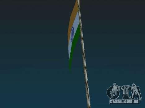 Bandeira da índia no monte Chilliad para GTA San Andreas segunda tela