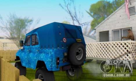 UAZ 469 Blue Star para o motor de GTA San Andreas