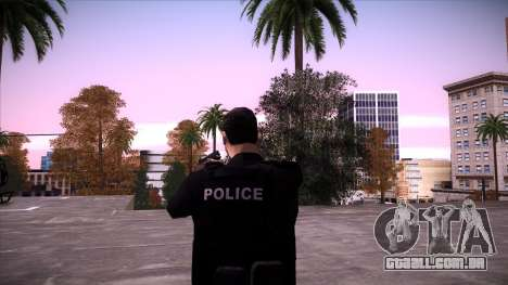 Special Weapons and Tactics Officer Version 4.0 para GTA San Andreas décima primeira imagem de tela