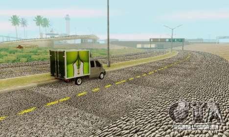 Heavy Roads (Los Santos) para GTA San Andreas segunda tela
