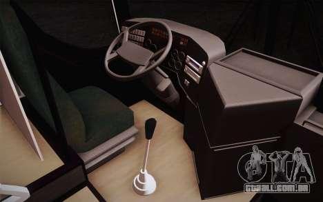 Mercedes-Benz Argentina Thailand Bus para GTA San Andreas traseira esquerda vista