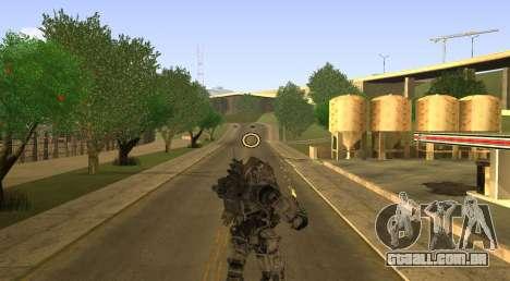 TitanFall Atlas para GTA San Andreas quinto tela