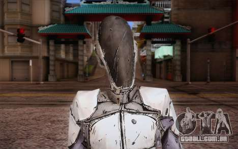 Zer0 из Borderlands 2 para GTA San Andreas terceira tela