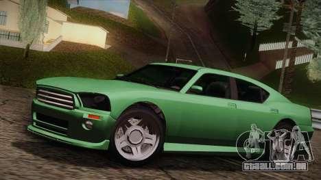 Bravado Buffalo I para GTA San Andreas vista traseira
