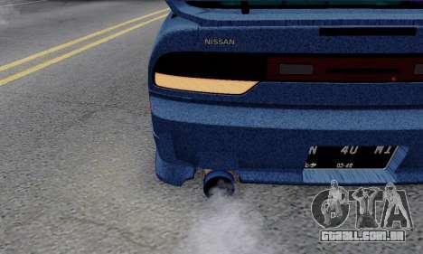 Nissan 240SX para vista lateral GTA San Andreas