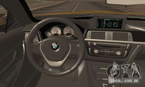 BMW M4 F80 Stanced para GTA San Andreas vista traseira