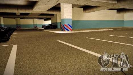 Nova garagem LSPD para GTA San Andreas segunda tela
