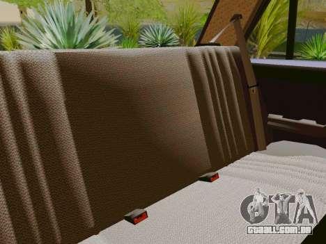 VAZ-2105 para vista lateral GTA San Andreas