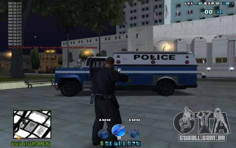 C-HUD by Mr.Riko para GTA San Andreas segunda tela