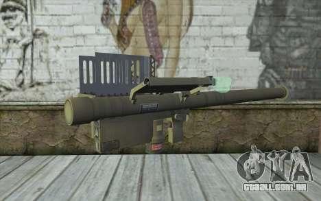 FIM-92 Stinger para GTA San Andreas
