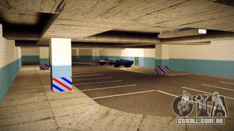 Nova garagem LSPD para GTA San Andreas quinto tela