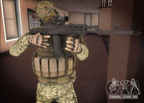 Alfa Antiterror para GTA San Andreas segunda tela