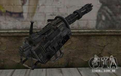 A metralhadora giratória из Fallout para GTA San Andreas segunda tela