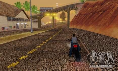 Heavy Roads (Los Santos) para GTA San Andreas sexta tela