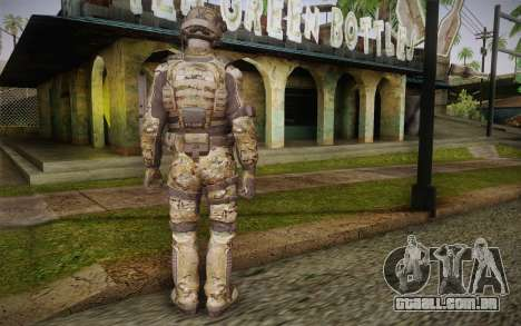 Crosby from Call of Duty: Black Ops II para GTA San Andreas segunda tela