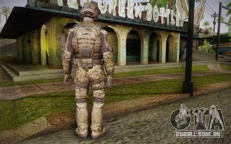 Crosby from Call of Duty: Black Ops II para GTA San Andreas