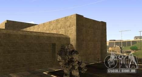 TitanFall Atlas para GTA San Andreas por diante tela
