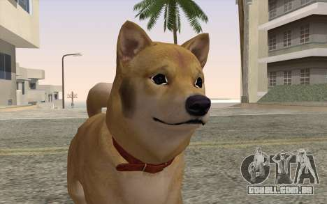 Cão para GTA San Andreas terceira tela