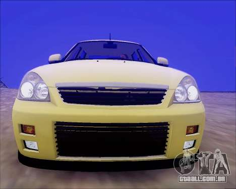 Lada 2170 Priora Tuneable para as rodas de GTA San Andreas