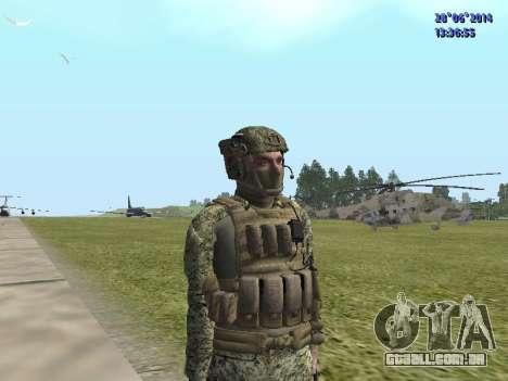 Alfa Antiterror para GTA San Andreas por diante tela