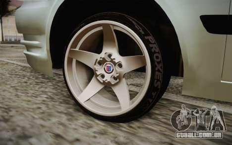Hyundai Polis TR para GTA San Andreas traseira esquerda vista