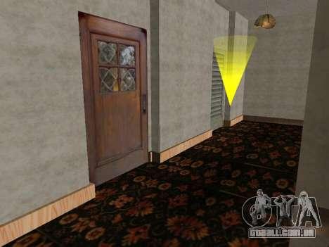 O novo interior da casa do CJ para GTA San Andreas terceira tela