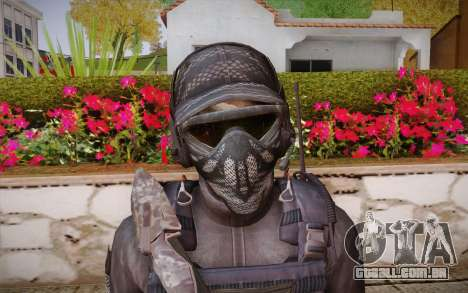 Chute из Call of Duty: Ghosts para GTA San Andreas terceira tela