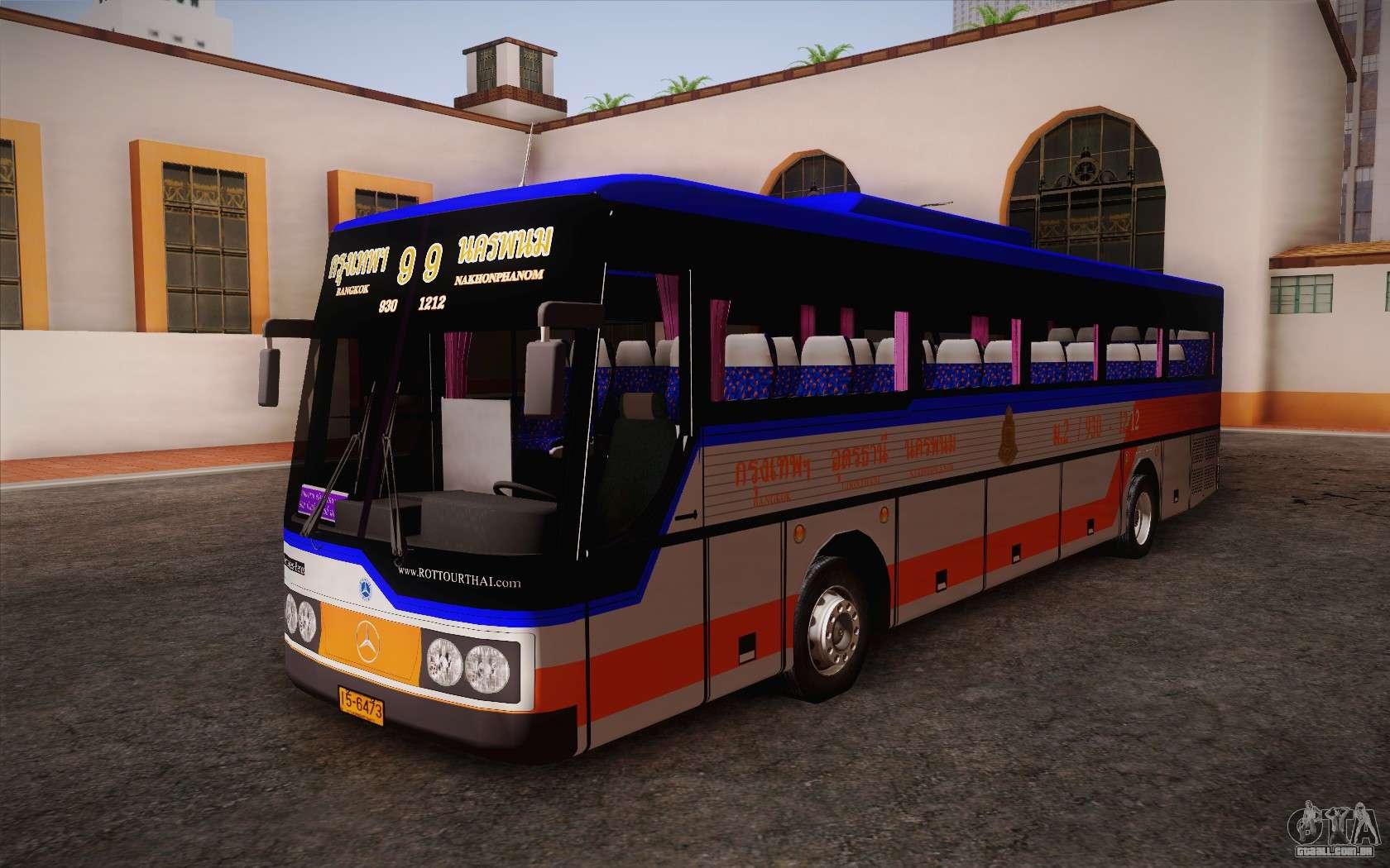 Mercedes benz argentina thailand bus para gta san andreas for Mercedes benz thailand