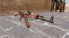 A AK-47 Red tiger