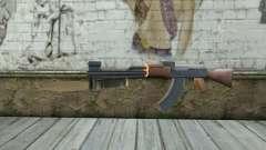 AK47 com uma baioneta