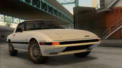 Mazda RX-7 GSL-SE 1985 IVF para GTA San Andreas