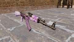 A AK-47 camo Roxo