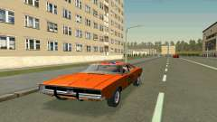 Dodge Charger General lee para GTA San Andreas