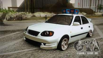 Hyundai Polis TR para GTA San Andreas