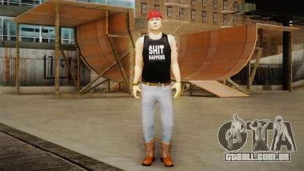 Axl Rose Skin v2 para GTA San Andreas