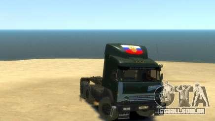 KamAZ Trator 4410 para GTA 4