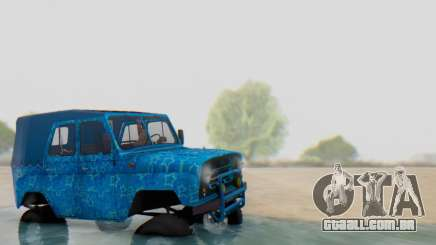 UAZ 469 Blue Star para GTA San Andreas