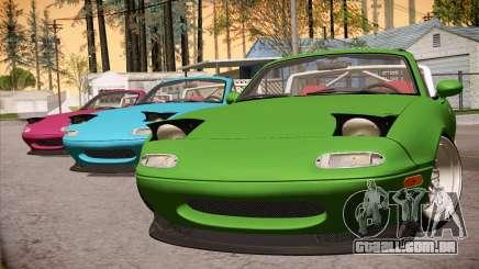 Mazda Miata Hellaflush para GTA San Andreas