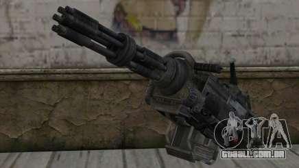 A metralhadora giratória из Fallout para GTA San Andreas