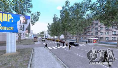 Russian Map 0.5 para GTA San Andreas