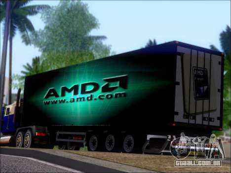 Trailer AMD Phenom X4 para as rodas de GTA San Andreas