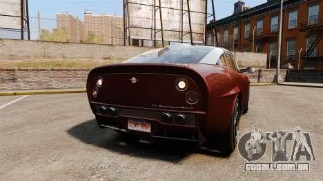 Spyker D8 para GTA 4 traseira esquerda vista