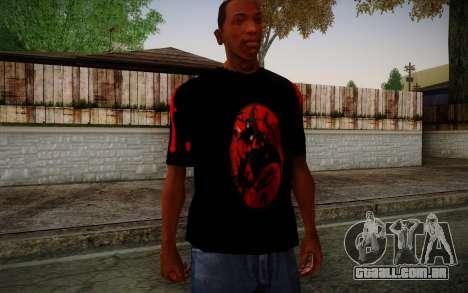 Uchiha Itachi T-Shirt para GTA San Andreas