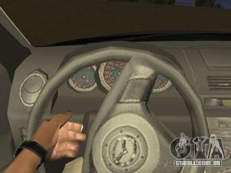 Mazda 3 v2 para vista lateral GTA San Andreas
