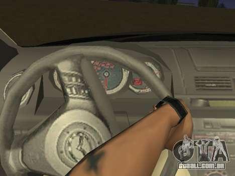 Mazda 3 v2 para GTA San Andreas vista interior
