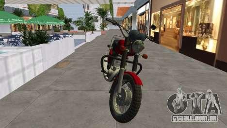 IZH Planeta 5 para GTA Vice City vista direita